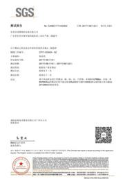 陶瓷砂SGS测试报告1